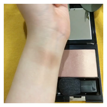 ピュア カラー ブラッシュ/SUQQU/パウダーチークを使ったクチコミ(3枚目)