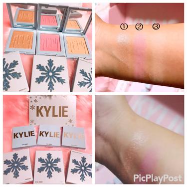ゆっちゃんさんの「Kylie Cosmeticsクリスマスホリデーコレクション<パウダーアイシャドウ>」を含むクチコミ