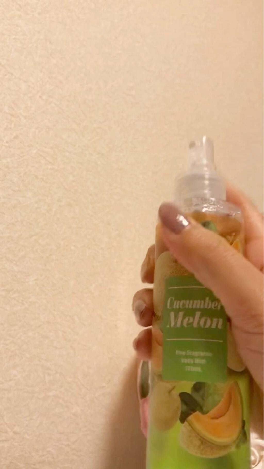 フレグランスボディミスト/メイコー化粧品/香水(レディース)を使ったクチコミ(3枚目)