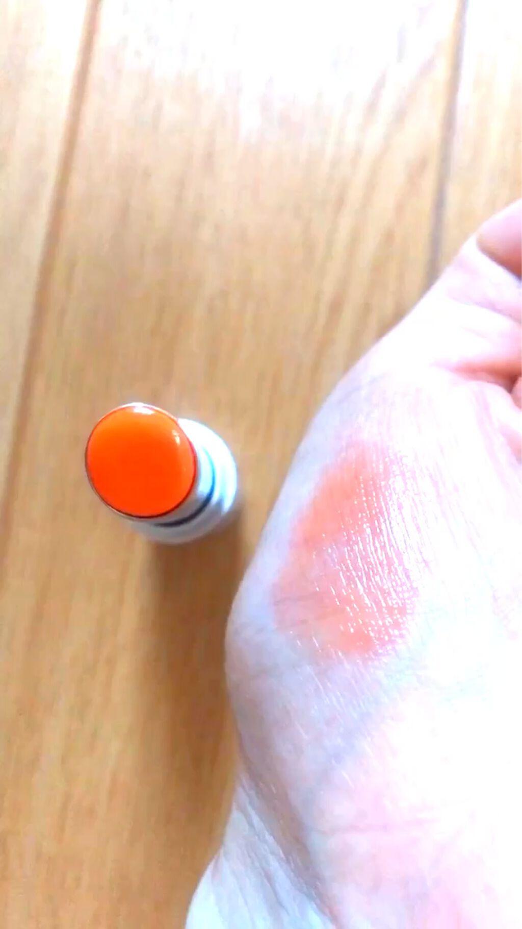 【動画付きクチコミ】003番フレッシュで爽やかなマンダリンオレンジしばらくお休みしてたけどやっぱりリピしました!#リンメル#ラスティングフィニッシュティントリップ