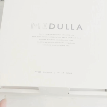 MEDULLA シャンプー/リペア/メデュラ/シャンプー・コンディショナーを使ったクチコミ(4枚目)