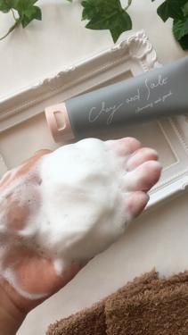 ピュアヴィヴィクレイ&ソルトクレンジングフォーム/株式会社イヴ/洗顔フォームを使ったクチコミ(4枚目)