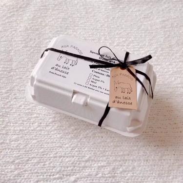 ロバミルク石鹸/AUX PARADIS (オゥパラディ)/洗顔石鹸を使ったクチコミ(2枚目)