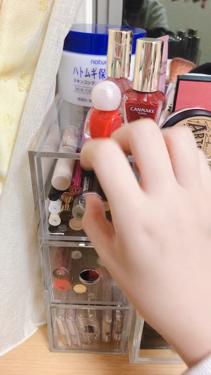 アクリルケース・横型5段・大/無印良品/その他化粧小物を使ったクチコミ(2枚目)