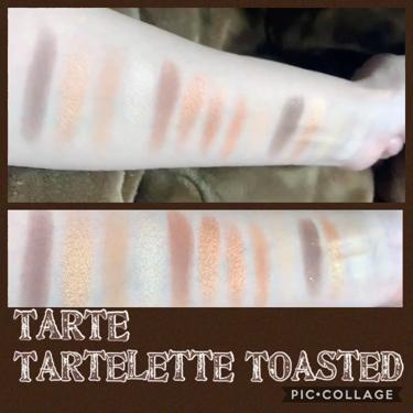 Tartelette Toasted Eyeshadow Palette/tarte/パウダーアイシャドウを使ったクチコミ(2枚目)