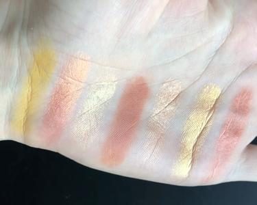 NATASHA DENONA Sunset Palette /Natasha Denona/パウダーアイシャドウを使ったクチコミ(2枚目)