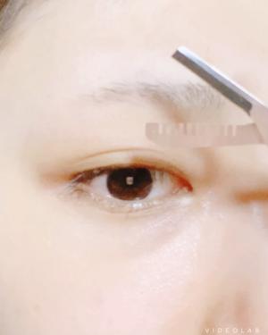 眉スキハサミ/貝印/その他化粧小物を使ったクチコミ(2枚目)