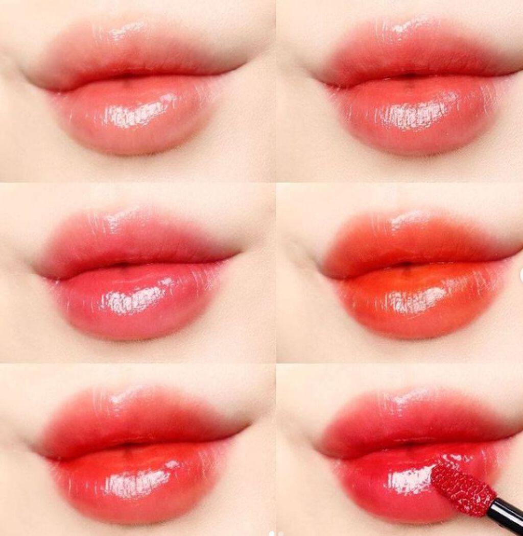 【動画付きクチコミ】自然に綺麗なリップは💕ムードフィットセラムティント⠀⠀⠀自然なつや理想的なリップ演出唇本来の色のように見え自然で血色のいい唇に💋⠀⠀⠀使用量によって発色も変わる💕一つのカラーで様々な雰囲気完成簡単にまた綺麗に自分なりのムート...