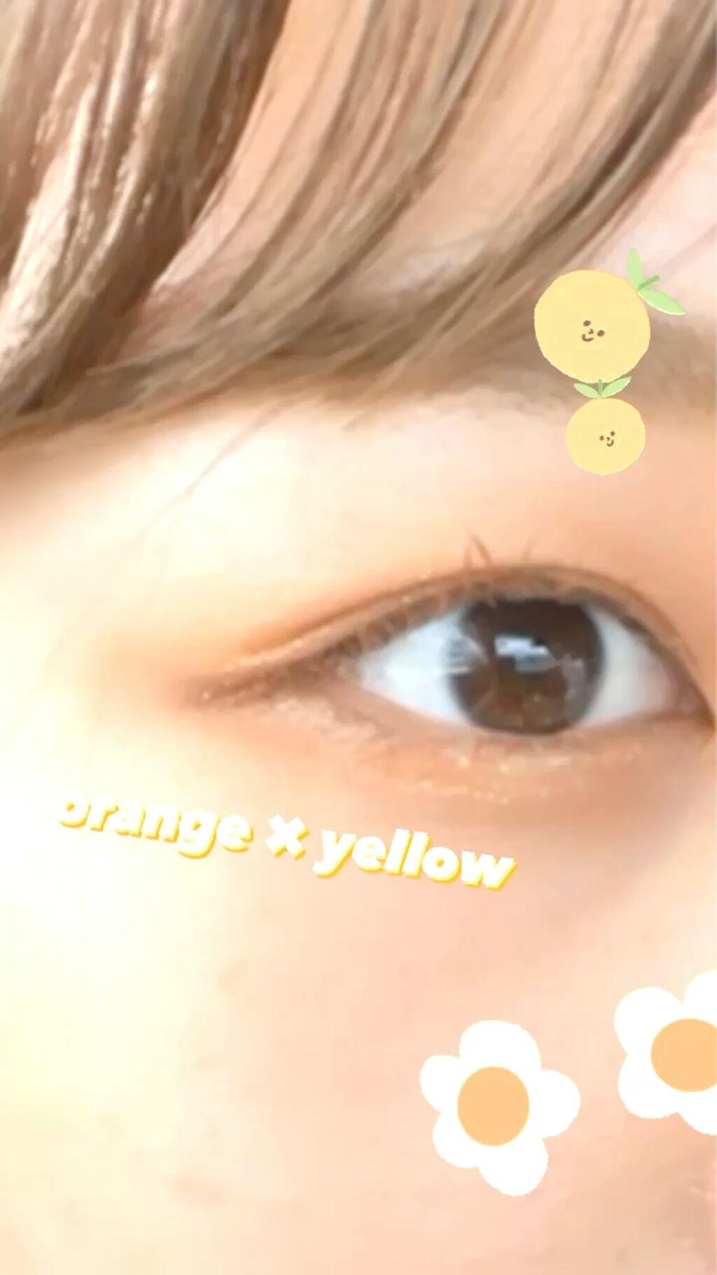 【動画付きクチコミ】🍊#innisfreeで作るイエローオレンジメイク!夏にピッタリなジューシーメイク🍊#イニスフリーのコスメを中心に、イエローオレンジメイク😌めちゃくちゃ可愛く仕上がりました🧡🧡-----------------------------...