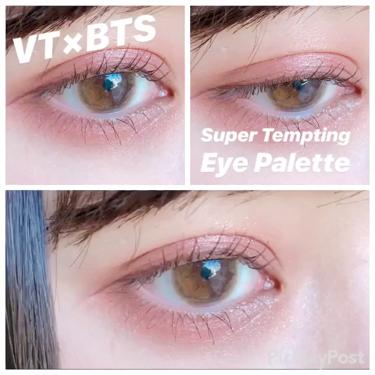 Super Tempting Eye Palette/VT Cosmetics(旧 VANT 36.5)/パウダーアイシャドウを使ったクチコミ(1枚目)