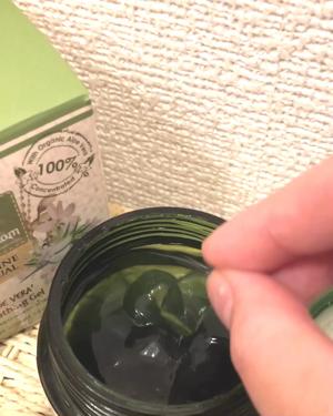 ジャスミンリチュアル アロエスージングジェル/Sabai-arom/ボディローション・ミルクを使ったクチコミ(3枚目)