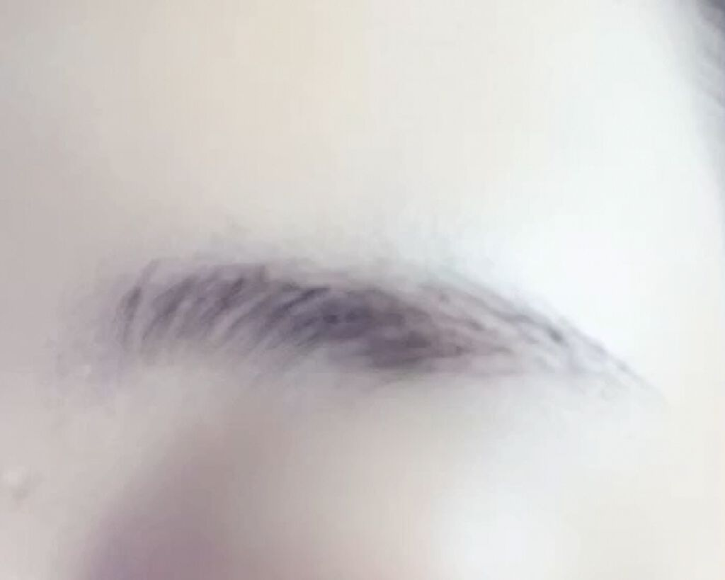 「フィルム眉カラー」 アイブロウカラー/デジャヴュ/眉マスカラを使ったクチコミ(4枚目)