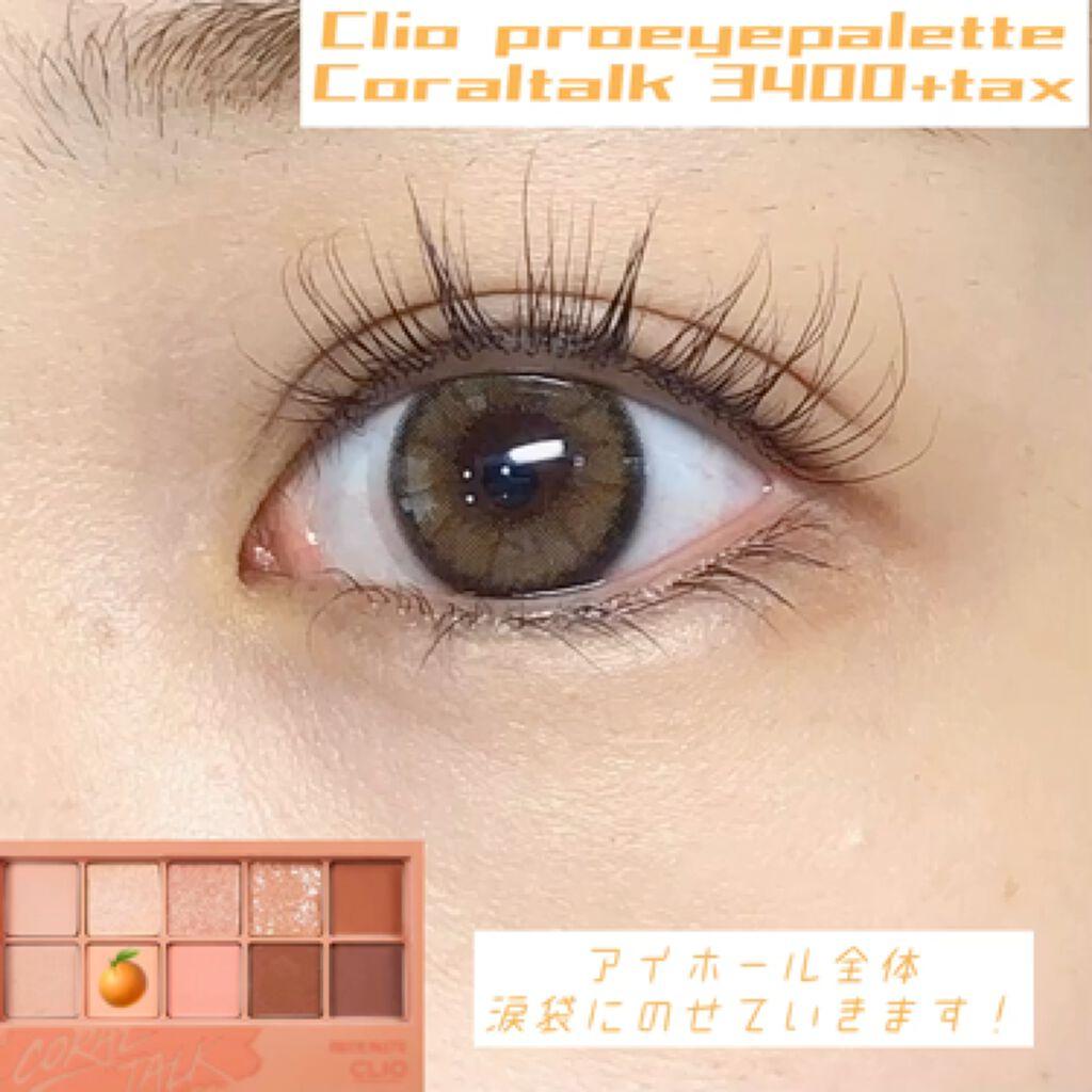プロ アイ パレット/CLIO/パウダーアイシャドウを使ったクチコミ(2枚目)