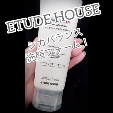 シカバランス洗顔フォーム/ETUDE/洗顔フォームを使ったクチコミ(2枚目)