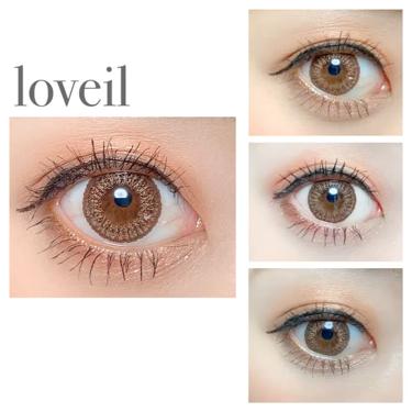 loveil 1day / 1month/loveil/カラーコンタクトレンズを使ったクチコミ(2枚目)