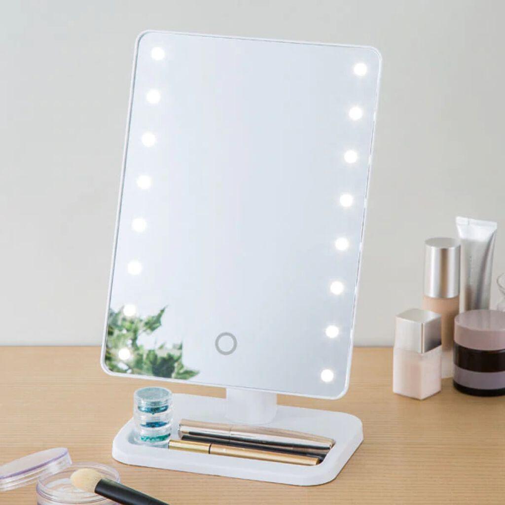 ニトリ LEDライトミラー (AS-0678)