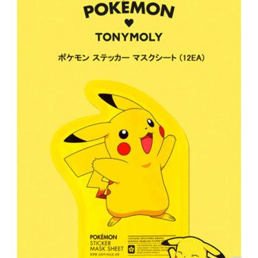 TONYMOLY(トニーモリー/韓国) ポケモンステッカーマスクシート