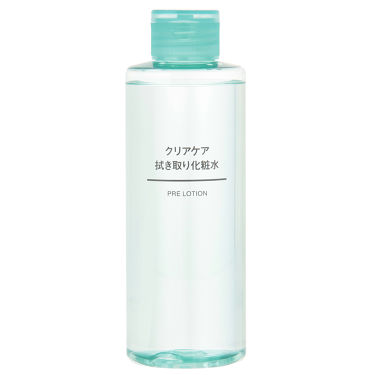クリアケア拭き取り化粧水 / 無印良品