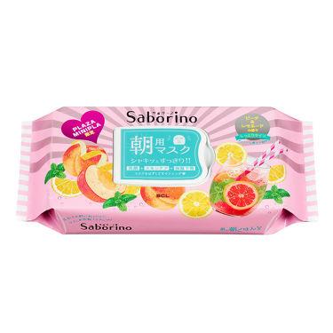 サボリーノ 目ざまシート ピーチ&レモネードの香り