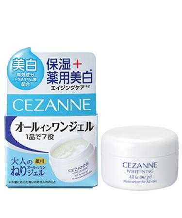 薬用美白 大人のねりジェル / CEZANNE