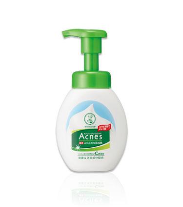 薬用ふわふわな泡洗顔 / メンソレータム アクネス