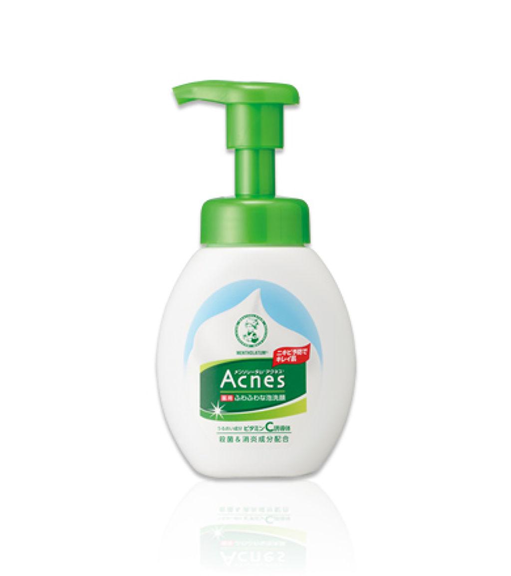 薬用ふわふわな泡洗顔 メンソレータム アクネス