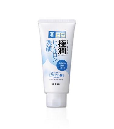 極潤 ヒアルロン洗顔フォーム 肌ラボ