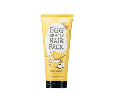 EGG REMEDY HAIR PACK / too cool for school