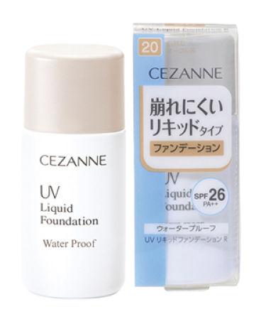 UV リキッドファンデーション R CEZANNE