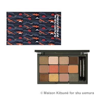 カモアイシャドーパレット / shu uemura