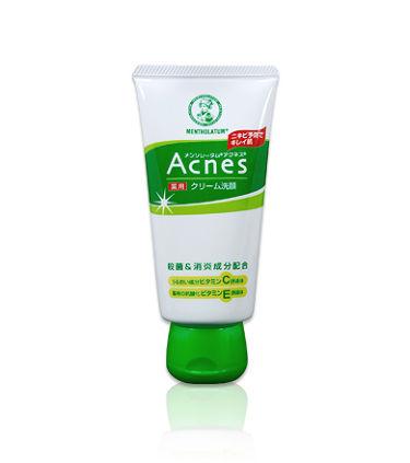 ロート製薬 Acnes薬用クリーム洗顔