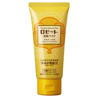 ロゼット洗顔パスタ 米ぬかつる肌 ロゼット