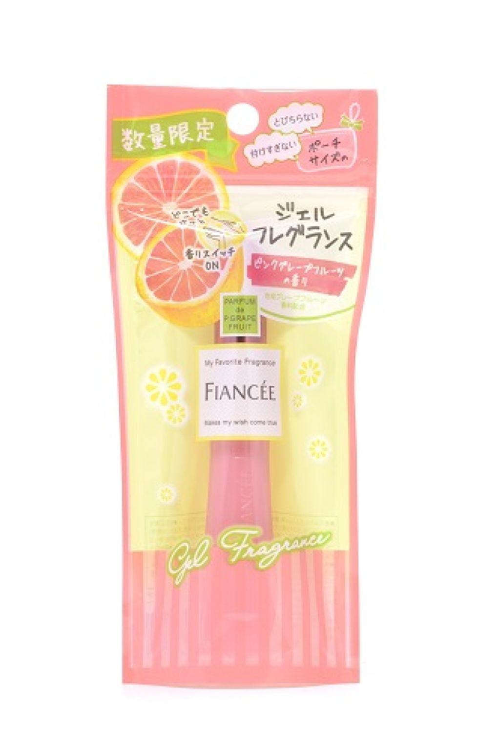 フィアンセ ジェルフレグランス ピンクグープフルーツの香り