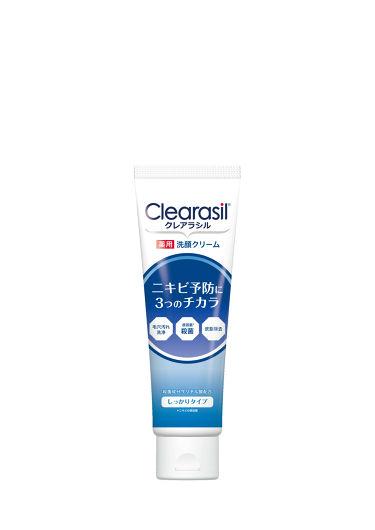 薬用洗顔フォーム しっかりタイプ / クレアラシル