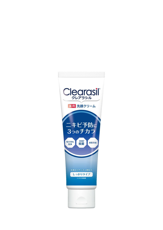 薬用洗顔フォーム しっかりタイプ クレアラシル