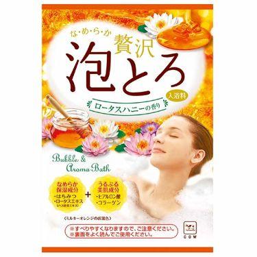 贅沢泡とろ 入浴料 ロータスハニーの香り お湯物語