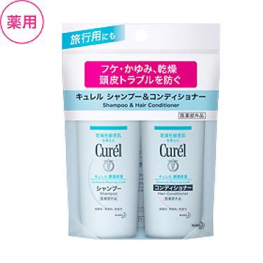 2007/3/10(最新発売日:2019/8/3)発売 Curel シャンプー&コンディショナー ミニセット