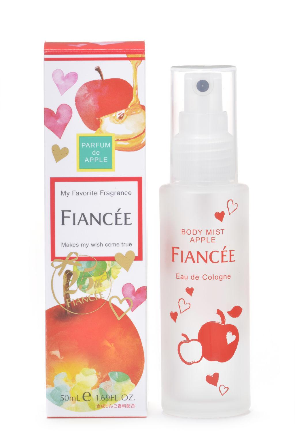 フィアンセ フィアンセ ボディミスト 恋りんごの香り