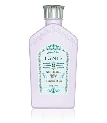 ホワイトハーバル ノーブル ミルク / IGNIS