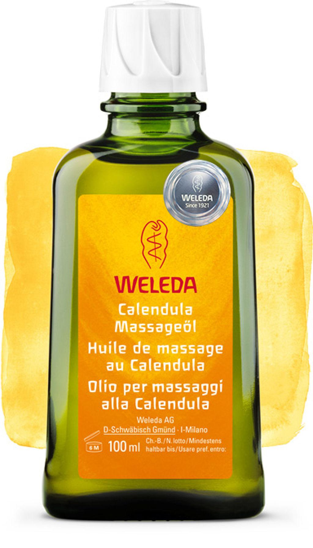 カレンドラ マッサージオイル WELEDA
