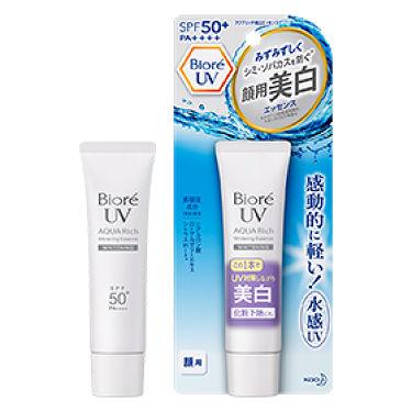 ビオレUV アクアリッチ 美白エッセンス SPF50+ / ビオレ