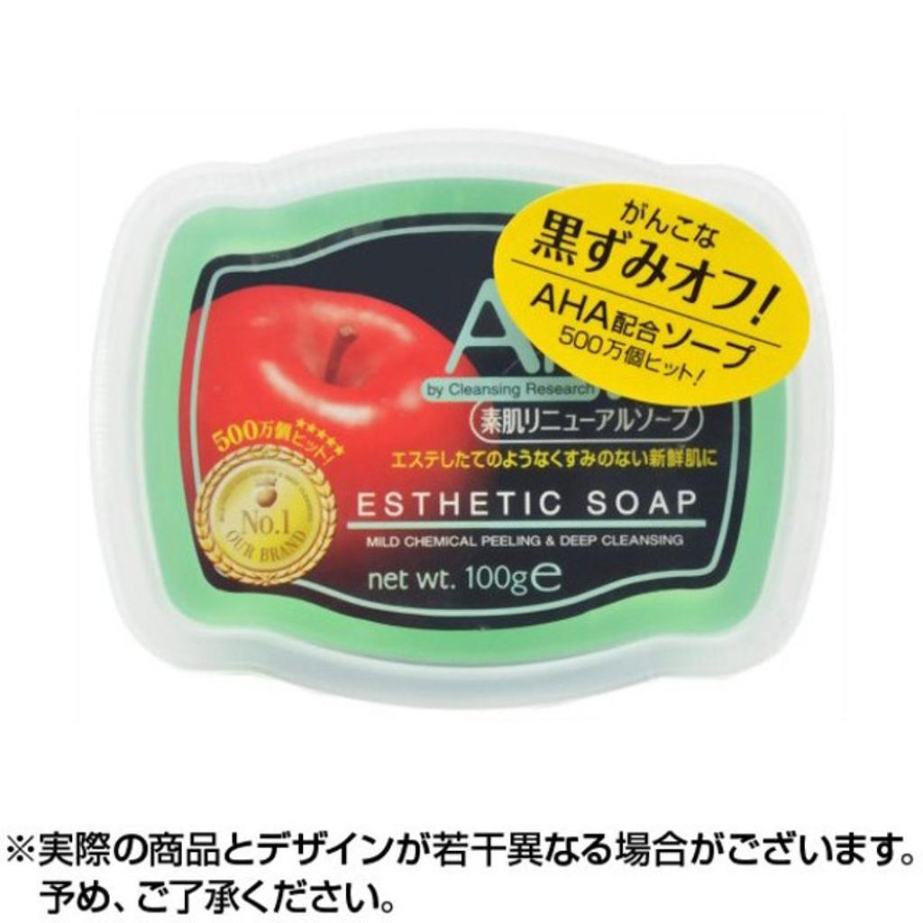 クレンジングリサーチのソープ(素肌リニューアル AHAソープ)