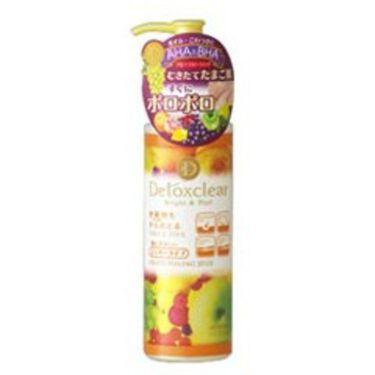 DETクリア ブライト&ピール ピーリングジェリー<ミックスフルーツの香り> / 明色化粧品