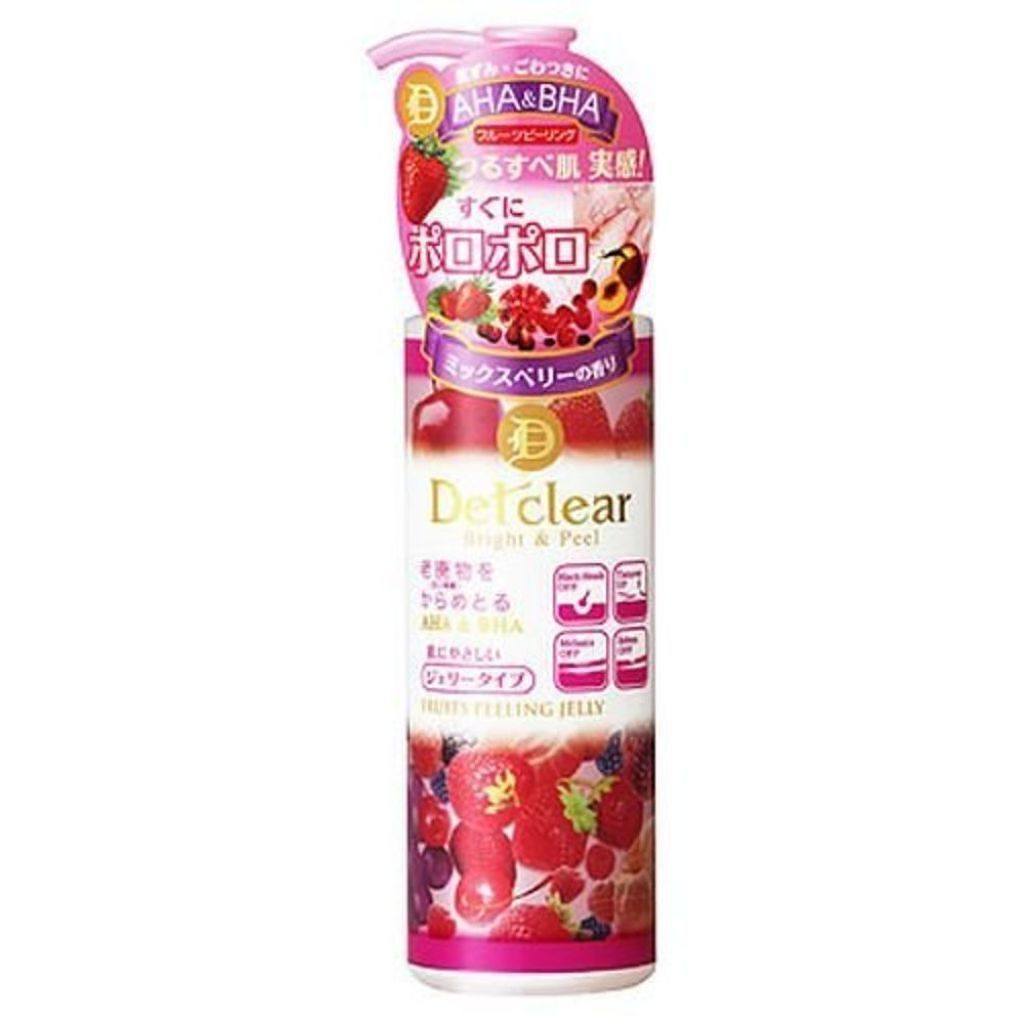 明色化粧品のDETクリア ブライト&ピール ピーリングジェリー <ミックスベリーの香り>