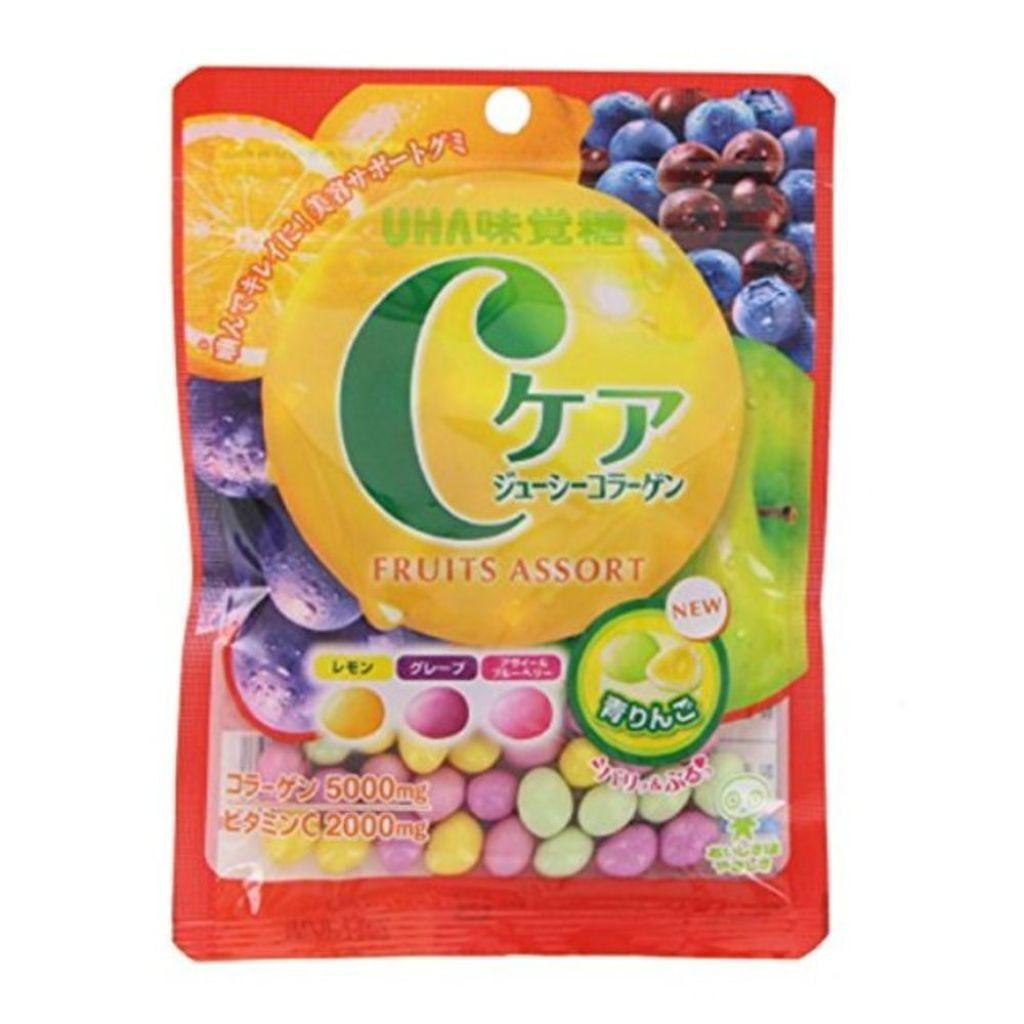 UHA味覚糖のCケアジューシーコラーゲン