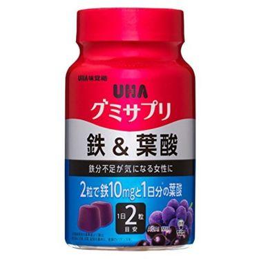 UHAグミサプリ鉄&葉酸 UHA味覚糖