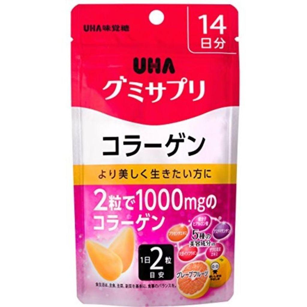 UHA味覚糖,UHAグミサプリ コラーゲン