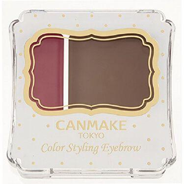 CANMAKE カラースタイリングアイブロウ