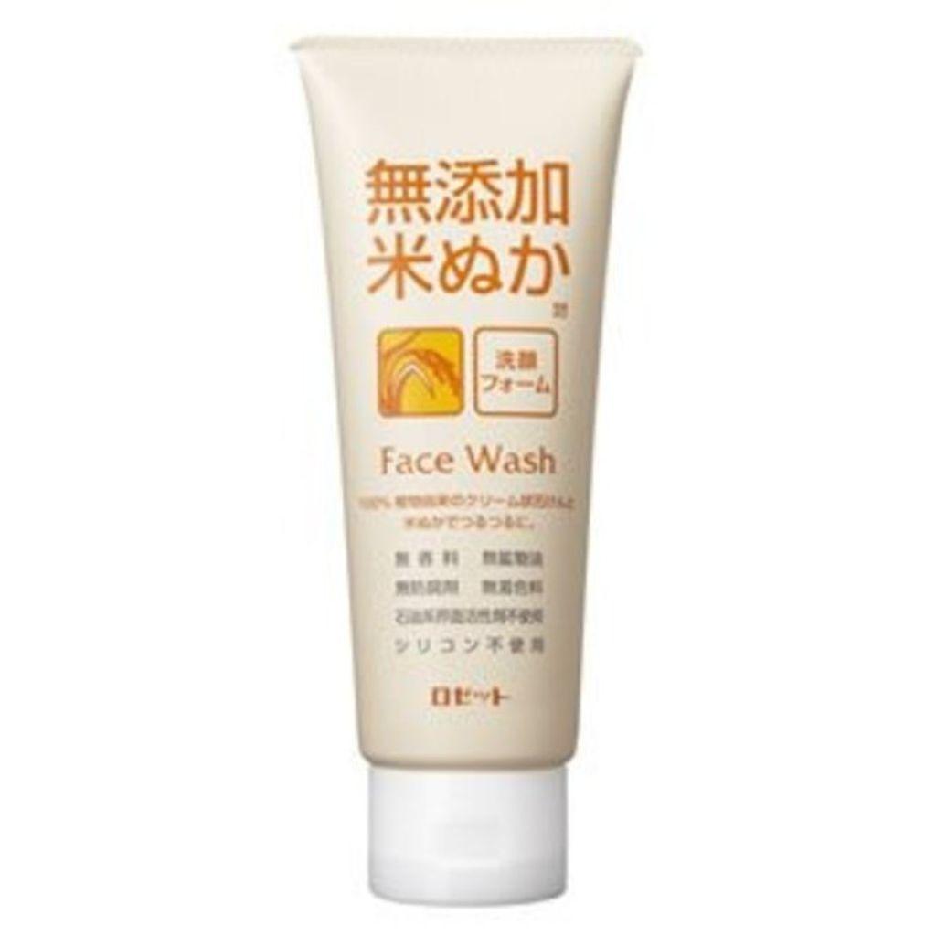 ロゼット 無添加米ぬか洗顔フォーム