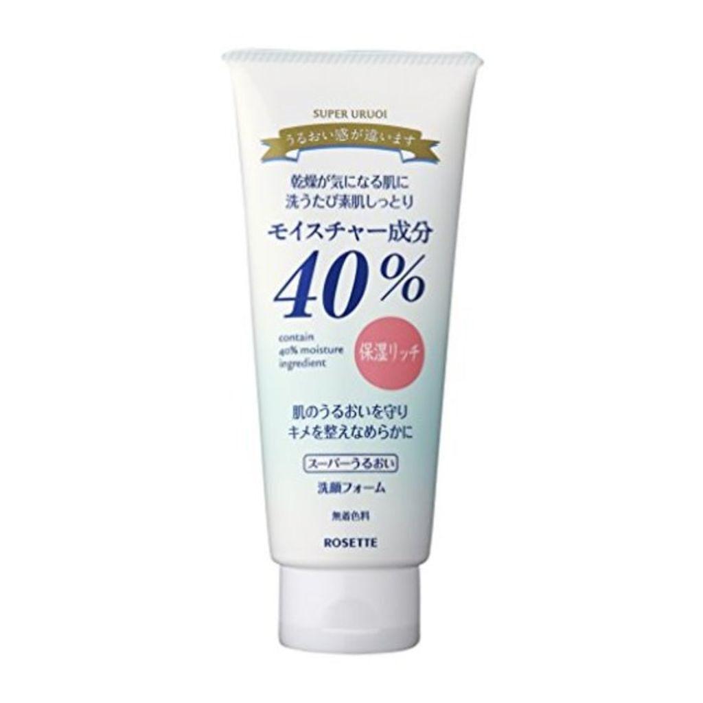 ロゼット 40%スーパーうるおい洗顔フォーム